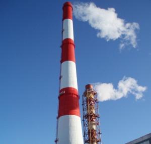 Фото антикоррозийной морозоустойчивой дымовой трубы, 7tps.ru