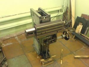 На фото - суппорт фрезерного станка 675П, whatdidshum.blogspot.com
