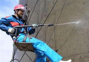 Фото гидроструйной очистки бетона, slando.ua
