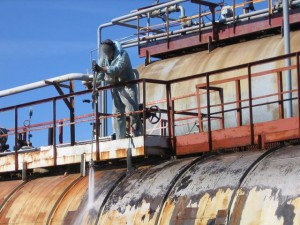 Фото гидроструйной очистки, alpdnepr.com.ua