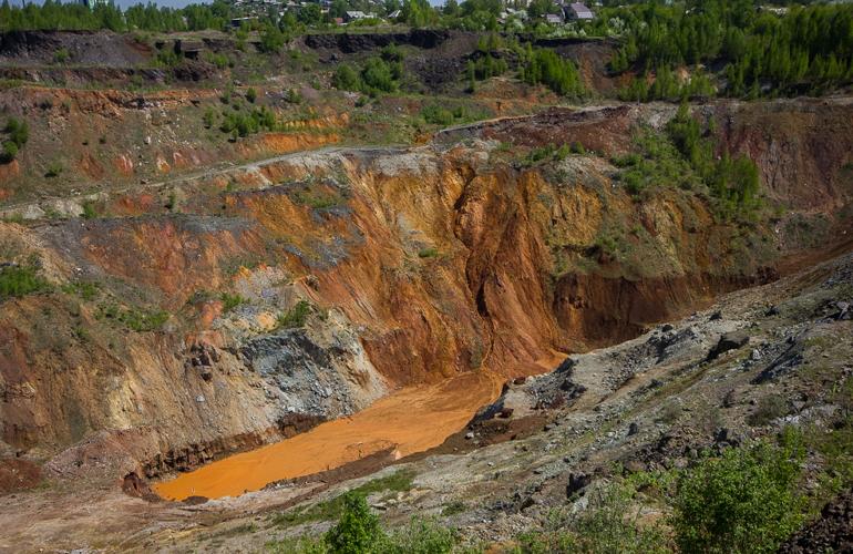 фото медная руда