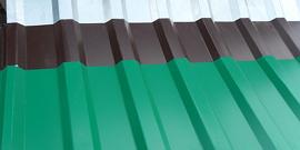 Гофролист оцинкованный для крыши – идеальный вид кровельного покрытия