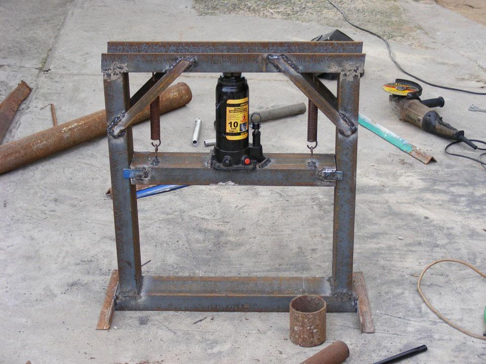 Гидравлический пресс своими руками – оборудование для домашней мастерской