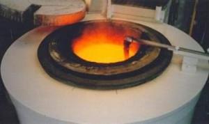 Фото диффузионной обработки литого металла, agroferro.com.br