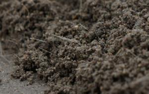 На фото - фиброволокно в цементном растворе для объемного армирования, expresspol.ru