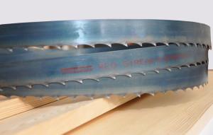 На фото - делительная ленточная пила для древесины, toolland.ru