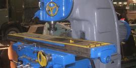 6М13П – идеальный станок для скоростного фрезерования деталей
