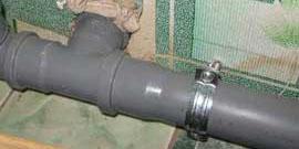Монтаж канализационных труб – делаем все своими руками