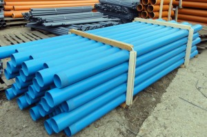Фото пластиковых обсадных труб для скважин, matline.ru