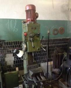 Фото расположения управляющих элементов на станке 2Н118, malenkie-sverla.uralkomplect.ru