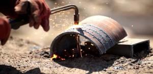 Фото газовой сварки металла, hellios.ru