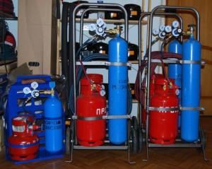 Оборудование для газовой сварки, ГОСТ на горелки