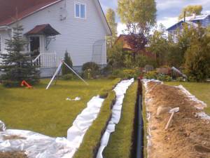 Максимальная глубина закладки канализационных труб