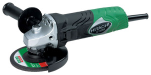 На фото - угловая шлифмашинка Hitachi G13SR3, toool.ru