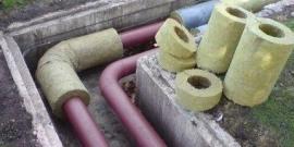 Утеплитель для канализационных труб на улице – какой использовать?