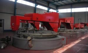 Фото шахтной печи для отжига металла, metiz.com.tw