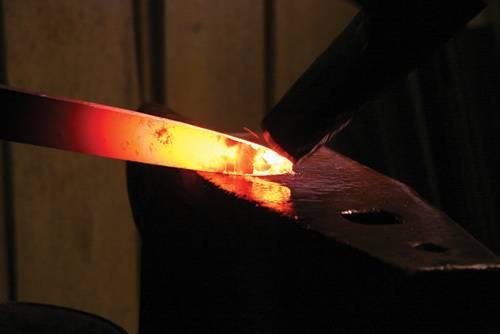 Как сделать закаленная сталь