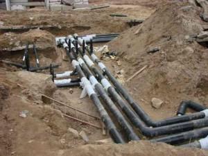Фото наружных сетей канализационной системы, kanalizaciyam.ru