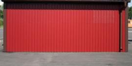Стеновой профлист – выбираем материал и монтируем его на стены