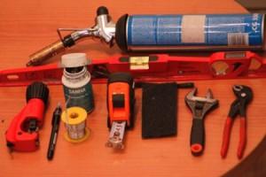 Фото инструментов для монтажа медного трубопровода, o-trubah.ru