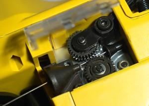 На фото - механизм пистолета для вязания арматуры, armogun.com.ua
