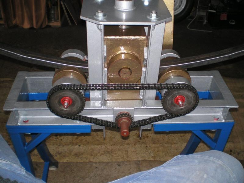 Гибочный станок своими руками для профильной трубы фото 19