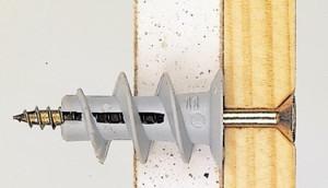 Как забить дюбель-гвоздь в гипсокартон, в керамическую либо кафельную плитку?