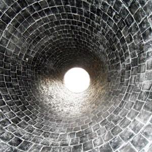 Фото футеровки труб керамической плиткой, metlesprom.ru