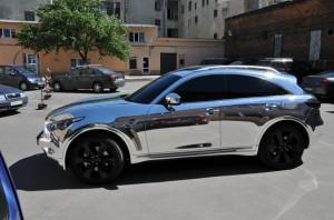 Фото покрытия хромом кузова автомобиля, vinil-at.ru