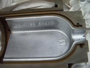 На фото - покрытие детали молочным хромом, platings.ru