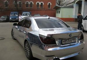 Фото высокого качества хромирования, autowrapping.ru