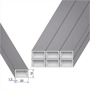 Как вычислить массу профиля прямоугольного сечения?