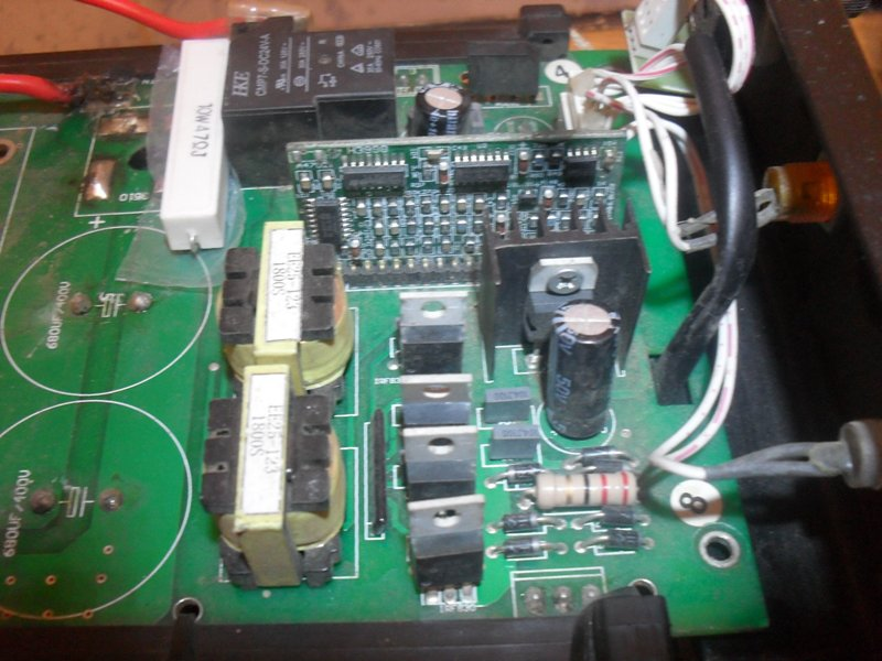 Фото электронной схемы
