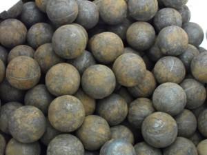На фото - стальные мелющие шары, irimex.kz