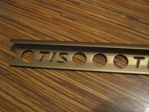 Фото латунного профиля для кафельной плитки, otzovik.com