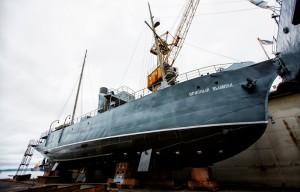 Фото протекторной и лакокрасочной защиты днища корабля, alexhitrov.livejournal.com