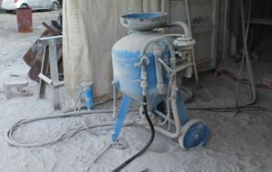 Фото эксплуатации пескоструйного аппарата, drive2.ru