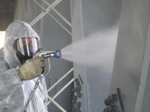 Фото защиты металлоконструкций ингибитором, prostostroy.com