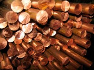 На фото - тянутые медные прутки, ukr-prom.com