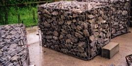 Габион – многоликий элемент декоративных и защитных конструкций