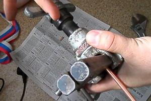Фото вальцовки медной трубы, youtube.com