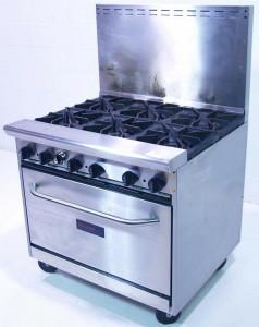 На фото - плита из алитированной стали, cheff.com.ua