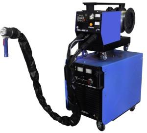 На фото - оборудование для электродуговой металлизации, graco-spb.ru