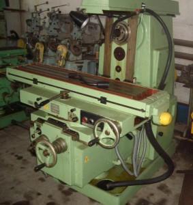 Фото устройства фрезерного станка 6Р81, board.com.ua