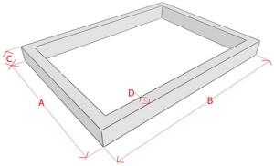 Фото графической схемы для расчета арматуры для ленточного фундамента, stroy-calc.ru