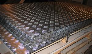 Где применяется рифленый лист из алюминиевых сплавов?