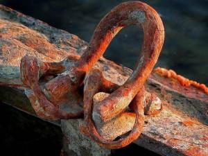 Фото коррозионных проявлений на анодных областях металла, st-garant.com