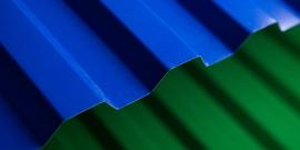 Окрашенный профлист – эстетически безупречный строительный материал