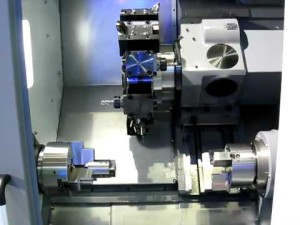 Коротко о токарно-фрезерных агрегатах с С-осью и противошпинделем фото