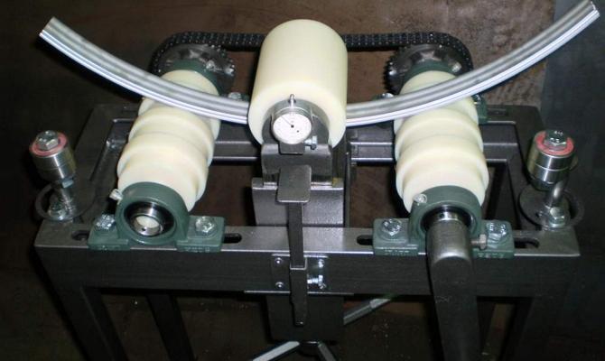 Фото компактной установки для гибки труб своими руками